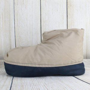 UNBRANDED Downfilled Camp Boots Slippers Sz Large